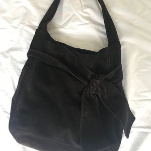 KOOBA  Suede Hobo Bag